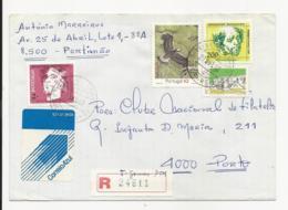 Cover Portugal 1993 Portimão Registered - 1910 - ... Repubblica