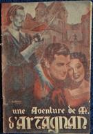 Marc Aubourdin - Une Aventure De M. D'Artagnan - Éditions Fournier - ( 1944 ) . - Avventura