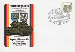 PU 117/90  Panzerbrigade 15 - Kampfpanzer Leopard 2 - Tag Der Offenen Tür 1983, Westerburg,Wetserw - BRD