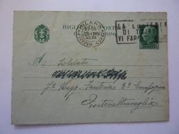 """Biglietto Postale Viaggiato  """"Soldato - 7° Regg. Fanteria 2 Compagnia PORTO VALTRAGLIA ( Varese )"""" 1942 - Marcophilia"""
