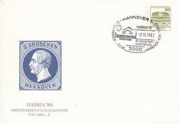PU 117/110  HABRIA'83 Briefmarken-Club Hannover Von 1886 E.V., Hannover 1 - BRD