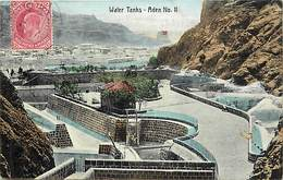 Pays Div- Ref U148- Yemen - Water Tanks In Aden - - Yémen