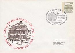 PU 117/112  Kieler Umschlag 1983 - Das Schweffelhaus Um 1907, Kiel 26 - BRD
