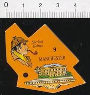 Magnet Le Gaulois Sherlock Holmes Manchester Grande-Bretagne Angleterre 01-mag2 - Magnets