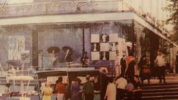 OLD USSR Postcard. Lipetsk City Street Chess - JEU - ECHECS - Échecs From The Set - Ajedrez
