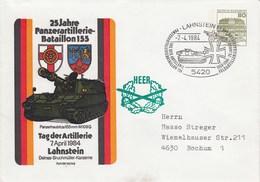 PU 117/117  25 Jahre Panzerartillerie-Bataillon 155 - Panzerhaubitze 155 M 109 G, Lahnstein 1 - [7] West-Duitsland