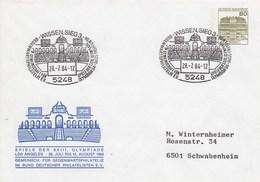 PU 117/120  Spiele Der XXIII. Olympiade Los Angeles 1984, Wissen,Sieg 3 - BRD