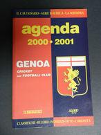 8) GENOA AGENDA 2000 2001 MOLTE FOTO E CURIOSITA' NUOVO PERFETTO FORMATO 14 X 21 - Livres, BD, Revues