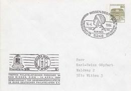 PU 117/121  Treffen Der Philatelister Forscher '84 - Olympia 1936, Wissen,Sieg - BRD