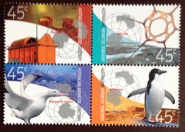 Australian Antarctic Territory AAT 2002 Research Birds MNH - Unused Stamps