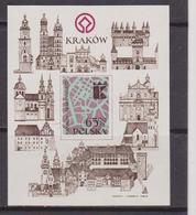 POLONIA/POLAND 1982 MNH 2549 Cracow Monuments UNESCO - 1944-.... Repubblica