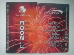 Slovakia-Slovaquie, Postel Prepaid Private Telecard - Puzzle, Happy New Year 2003, - Slovaquie