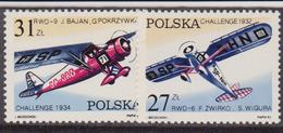 Polonia - 1982 Yvert 2620/1MNH Aerei - 1944-.... Repubblica