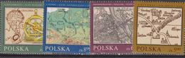 Polonia - 1982 Map MNH - 1944-.... Repubblica