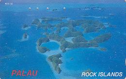 Télécarte Japon / 110-016 - Paysage Océanie - PALAU - ROCK ISLAND - Japan Phonecard Telefonkarte - 67 - Landschappen