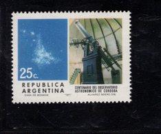 782320982 1971 SCOTT 989 POSTFRIS  MINT NEVER HINGED EINWANDFREI  (XX) - OBSERVATORY AND NEBULA OF MAGELLAN - Argentine