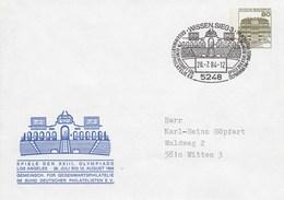 PU 117/138  Spile Der XXIII. Olympiade Los Angeles 1984 - Gemeinsch. Für Gegenwartsphilatelie, Wissen,Sieg 3 - BRD