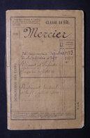 MILITARIA - Carnet De La Classe De 1884 - Ecole Militaire -  L 31675 - Documents