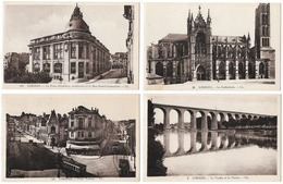 Lot De 4 Cartes  - Limoges  (87) - Limoges