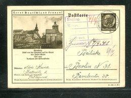 Deutsches Reich / 1940 / Bildpostkarte > GRAUDENZ, Steg-Stempel Bismarckhuette (17374) - Deutschland