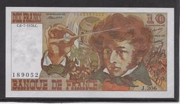 France 10 Francs Berlioz - 6-7-1978 - Fayette N°63-24a - 306 - SPL - 1962-1997 ''Francs''