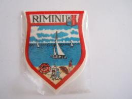 Rimini Italia Ecusson En Tissu Schild Blazoen 5,8 X 7,8 Cm - Patches