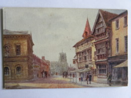 CPA STRATFORD ON AVON - Hight Street, Showing Havard House - Stratford Upon Avon