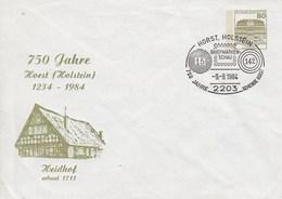 PU 117/154a  750 Jahre Horst (Holstein) 1234-1984 - Heidhof Erbaut 1711, Horts,Holstein - BRD
