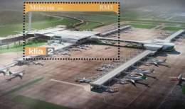 Malaysia Kuala Lumpur International Airport KLIA 2 2014 Aeroplane Aviation (ms) MNH *road Surface Effect *unusual - Malaysia (1964-...)
