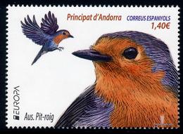 "ANDORRA Spanish/Spanische EUROPA 2019 ""National Birds"" 1v** - 2019"