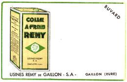 """C R/Buvard Colle A Froid """"Rémy"""" (Format 21 X 13.5)  (N= 1) - Buvards, Protège-cahiers Illustrés"""
