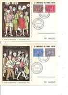 Luxembourg ( 3 Cartes Premier Jour De 1953 à Voir) - Luxembourg