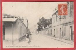 Algérie - Marnia - Rue De La Mosquée - Postes Et Télégraphes (Geiser) - Algérie