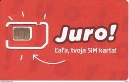 Slovakia-Slovaquie Slovak Telecom Mobile Juro, GSM SIM Mint - Slovaquie