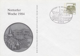 PU 117/162a Nortorfer Wochen 1984 - Briefmarkensammlerverein Nortorf B Neumünster - BRD