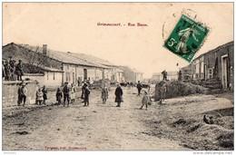 GRIMAUCOURT - Rue Basse (beau Plan Animé) - France