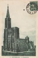 CPA  -STRASBOURG   CATHEDRALE ECRITE 1923  319 - Strasbourg