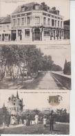 LOT DE 100 CPA TYPE PETITE CARTE  DROUILLE - Pas De Paris, Lourdes, Versailles, Mont St Michel ...  Qqes Ex En Scan  - - 100 - 499 Cartes