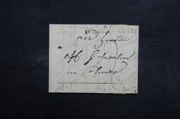 """FRANCE - Marque Postale """" 66 Sainte Marie Aux Mines """" Sur Lettre -  L 31685 - 1801-1848: Précurseurs XIX"""