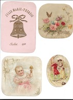 7 CHROMOS LITHOGRAPHIE  BAPTEME    N052 - Confectionery & Biscuits