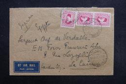 EGYPTE - Enveloppe De Alexandrie Pour Soldat Des Forces Française Au Caire En 1941 -  L 31686 - Égypte