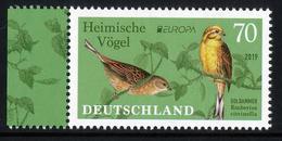 """GERMANY/Deutschland EUROPA 2019 """"National Birds"""", 1v** - 2019"""