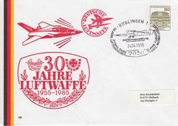 PU 117/201  30 Jahre Luftwaffe 1955-1985, 130  Böblingen 1 - BRD