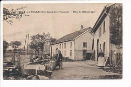 Carte  De La Bolle Près Saint Dié  Rue De Grandrupt  ( Recto Verso ) - Saint Die