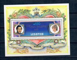 LESOTHO 1981 - MATRIMONIO CARLO E DIANA - ROYAL WEDDING - FGL - MNH ** - Lesotho (1966-...)