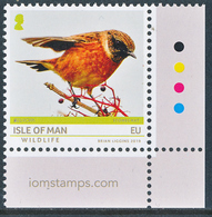 "ISLE OF MAN/Insel Man EUROPA 2019 ""National Birds"" 1v** From Sheets Of 10v - 2019"