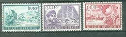 België 1966; Expeditie Antartica, OCB 1391-1393.** (MNH) - Belgique