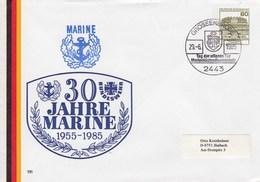 PU 117/204  30 Jahre Marine 1955 - 1985, Grossenbrode - BRD