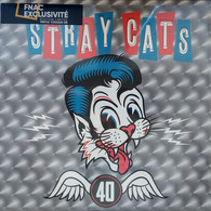 33T STRAY CATS 40 - 2019 EUROPE LP Gold Limited Edtion 180gram / BRAND NEW Factory Sealed / NEUF Sous Cellophane - Rock