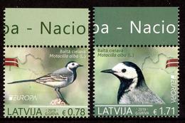 "LATVIA/Lettland  EUROPA 2019 ""National Birds"" Set Of 2v** - 2019"